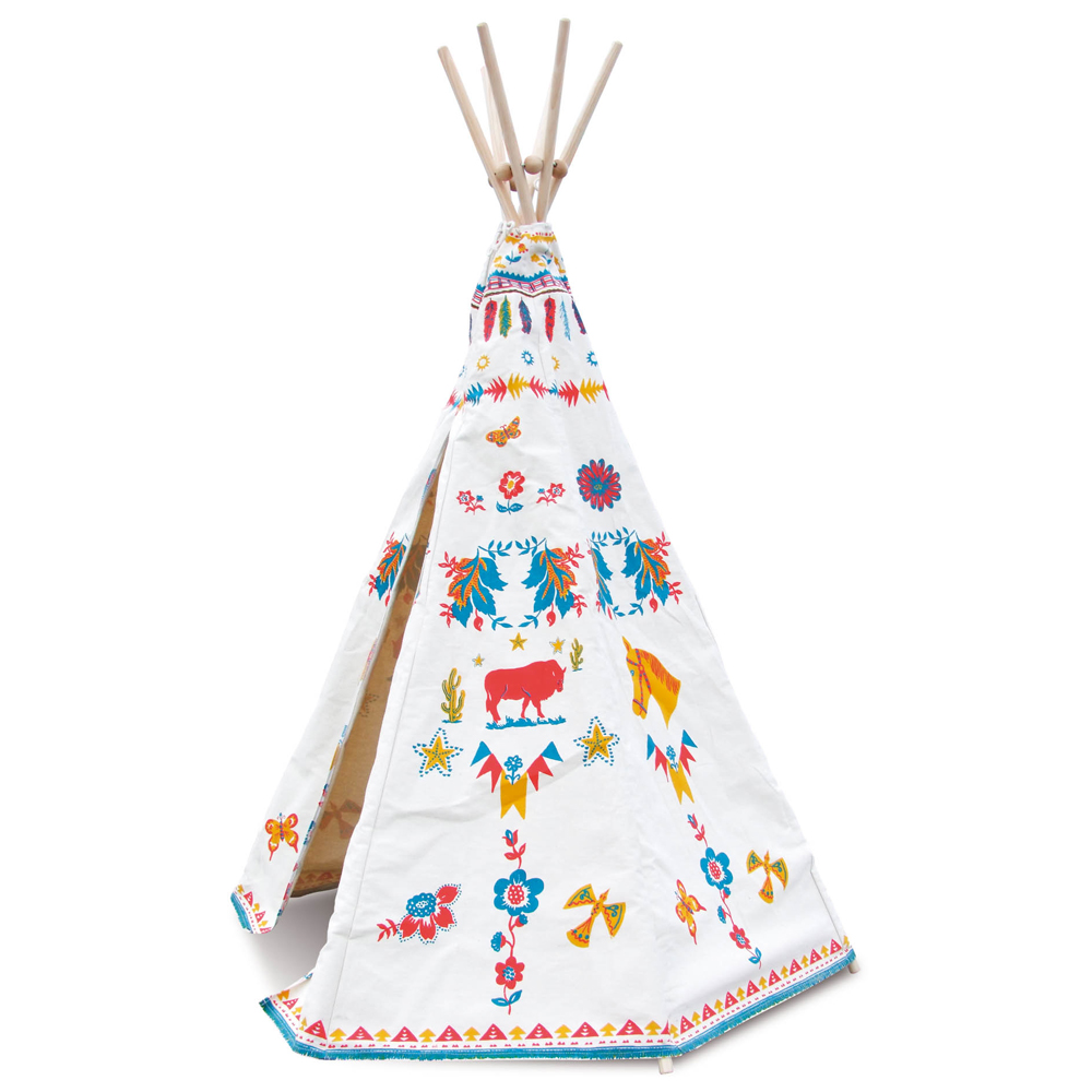 tipi d 39 indien de nathalie l t vilac pour chambre enfant. Black Bedroom Furniture Sets. Home Design Ideas