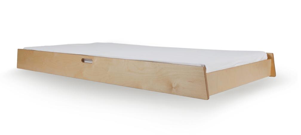tiroir lit gigogne pour lit enfant sparrow bouleau oeuf nyc pour chambre enfant les enfants. Black Bedroom Furniture Sets. Home Design Ideas