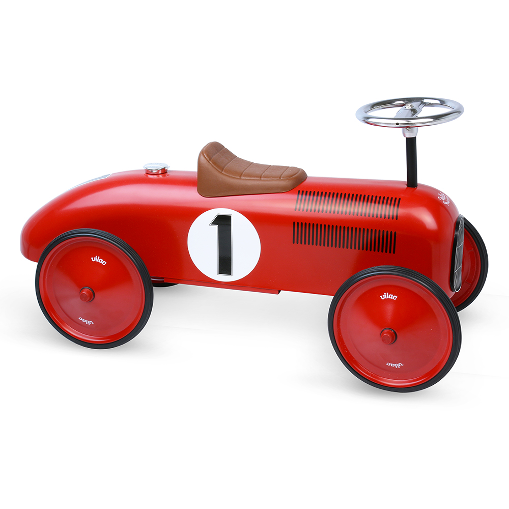 porteur voiture vintage rouge vilac pour chambre enfant les enfants du design. Black Bedroom Furniture Sets. Home Design Ideas