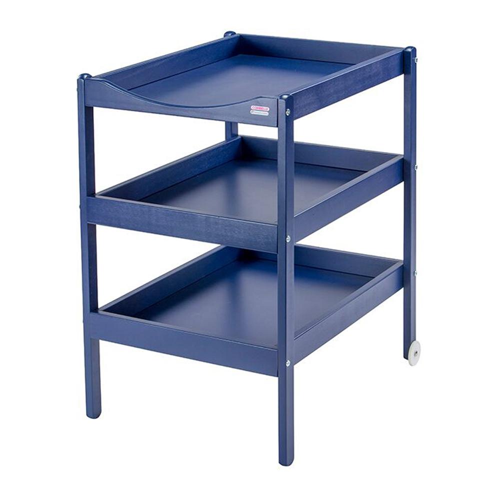 table langer susie laqu bleu marine combelle pour chambre enfant les enfants du design. Black Bedroom Furniture Sets. Home Design Ideas