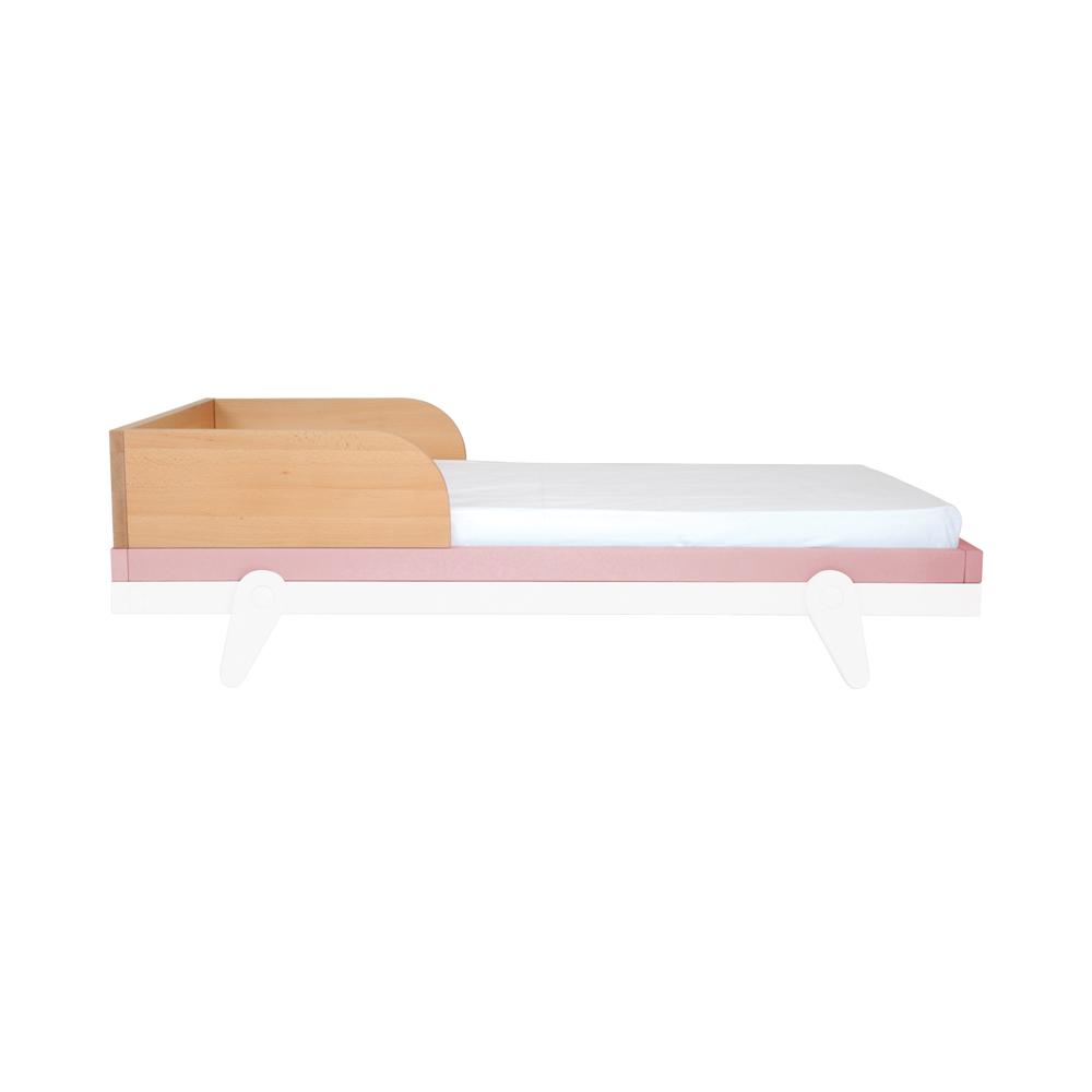 barri re pour lit b b 60 x 120 cm petipeton vieux rose laurette pour chambre enfant les. Black Bedroom Furniture Sets. Home Design Ideas