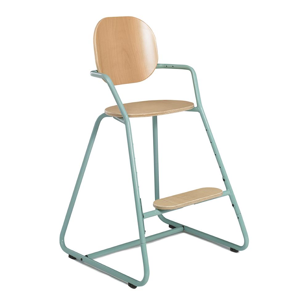 chaise haute volutive tibu bleu turquoise charlie crane pour chambre enfant les enfants du. Black Bedroom Furniture Sets. Home Design Ideas