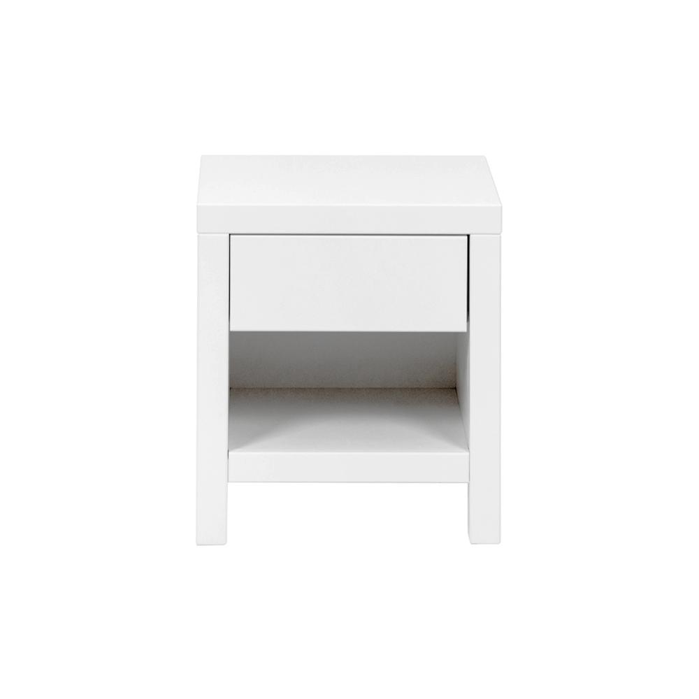 table de nuit joy blanc quax pour chambre enfant les. Black Bedroom Furniture Sets. Home Design Ideas