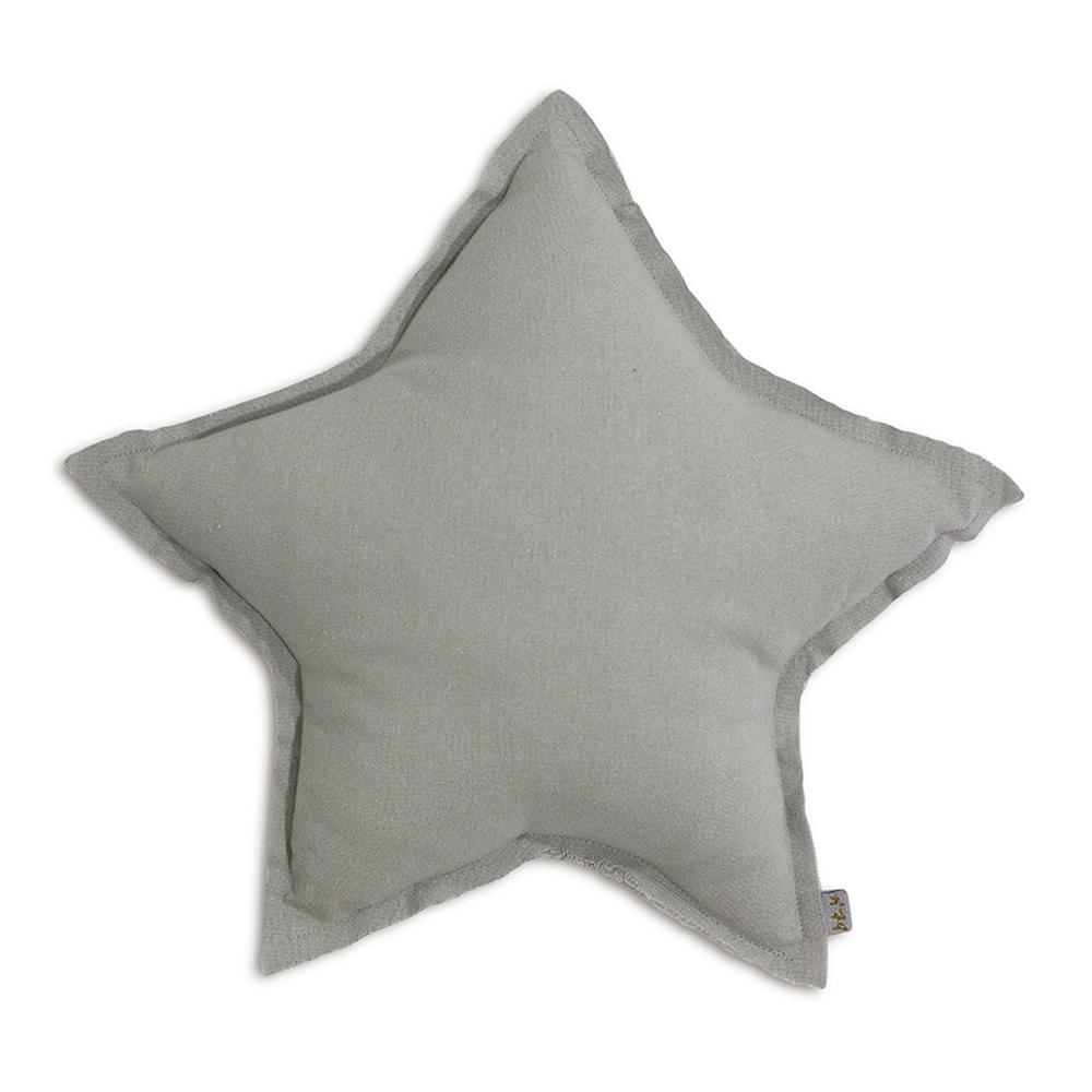 coussin etoile gris argent num ro 74 pour chambre enfant. Black Bedroom Furniture Sets. Home Design Ideas