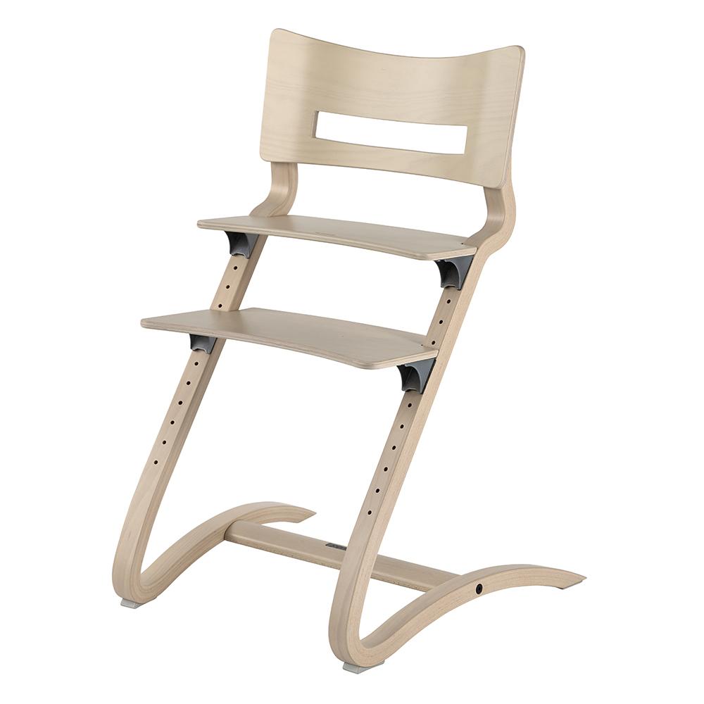 chaise haute volutive leander blanc c rus leander pour chambre enfant les enfants du design. Black Bedroom Furniture Sets. Home Design Ideas
