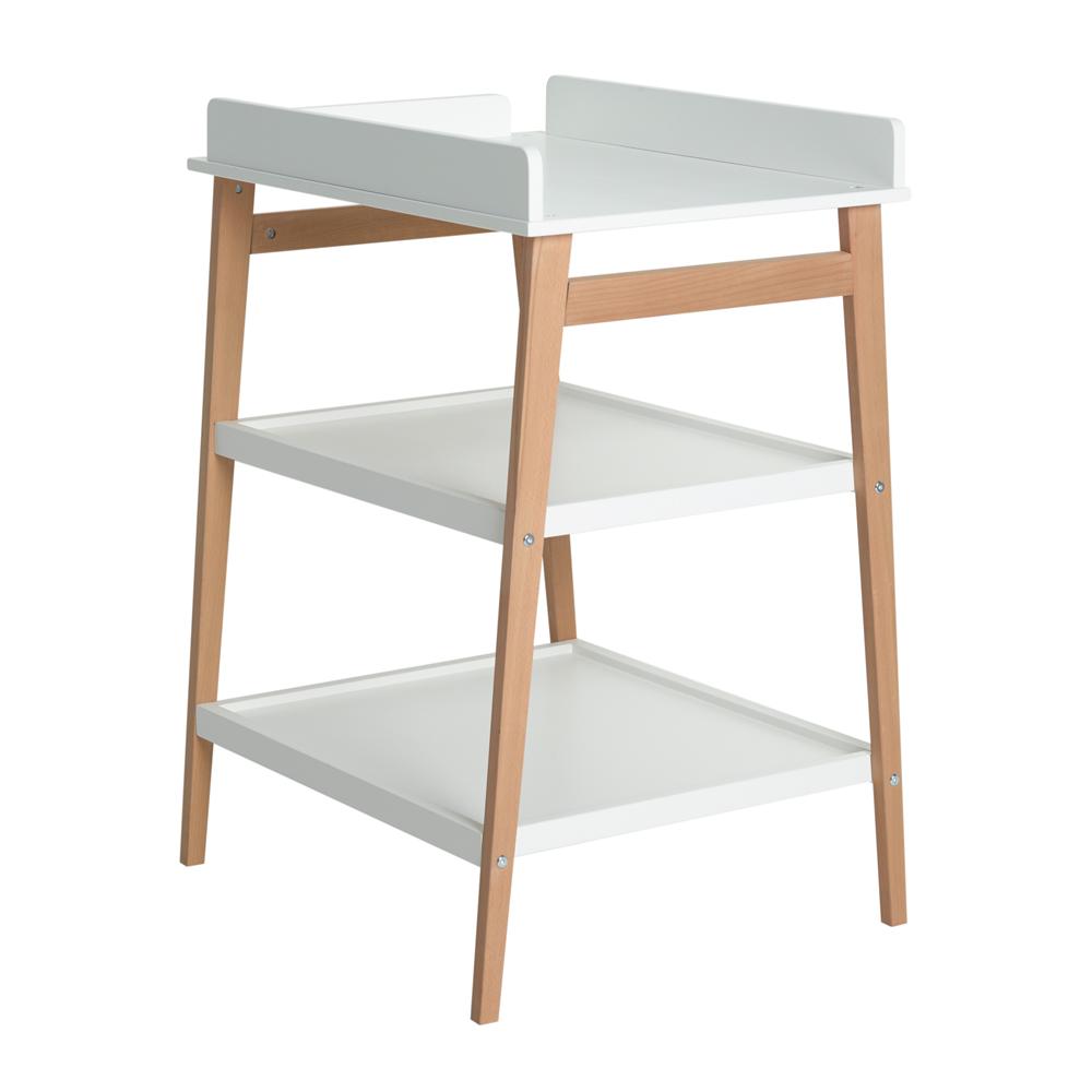 table langer hip blanc naturel quax pour chambre enfant les enfants du design. Black Bedroom Furniture Sets. Home Design Ideas