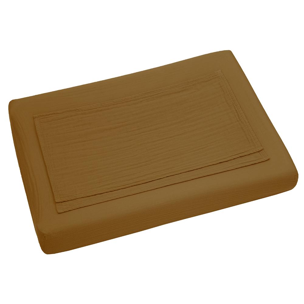 housse de matelas langer curry num ro 74 pour chambre. Black Bedroom Furniture Sets. Home Design Ideas