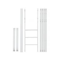 Kit de conversion Mini+ Wood pour lit junior mezzanine mi-haut - Blanc
