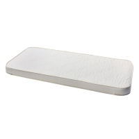Matelas angles arrondis Mini+ Wood 60x160x12
