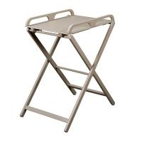 Table à langer pliante Jade - Laqué gris clair