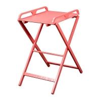 Table à langer pliante Jade - Laqué rose