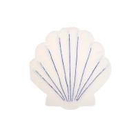 16 petites serviettes Coquillages