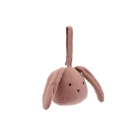 Hochet à suspendre Lapin - Rose fawn