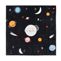 16 grandes serviettes Espace