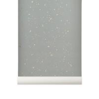 Papier peint Confettis - Gris