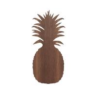 Lampe applique Ananas - Chêne fumé
