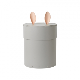 bo te de rangement lapin gris clair ferm living pour chambre enfant les enfants du design. Black Bedroom Furniture Sets. Home Design Ideas