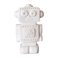 Veilleuse lampe Robot - Blanc