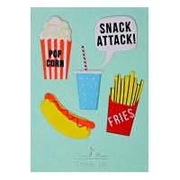 Stickers Snack Attack