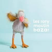 Peluche Poupée Vautour Gus - Roty Moulin Bazar