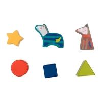 Boîte à formes Maison - Les Zig et Zag