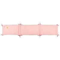 Tour de lit bébé - Les Jolis Trop Beaux - Rose poudré