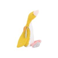 Doudou petite oie jaune Bambou - Le Voyage d'Olga