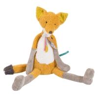 Doudou grand renard chaussette - Le Voyage d'Olga