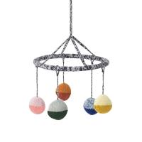 Mobile suspendu tricoté Ball - Multicolore