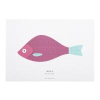 Affiche A3 Rockfish - Bordeaux