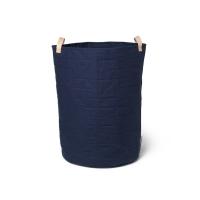 Panier de rangement Ann - Bleu marine
