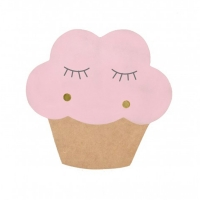 Lampe applique CupCake - Rose