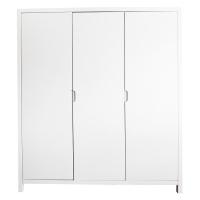 Armoire 3 portes Joy - Blanc