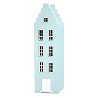 Armoire maison Amsterdam escalier - Bleu mer