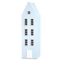 Armoire maison Amsterdam escalier - Bleu pastel