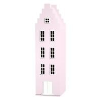 Armoire maison Amsterdam escalier - Rose pastel
