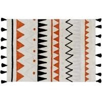 Tapis Azteca Natural - Terracotta