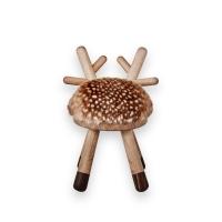 Chaise enfant Bambi - Chêne/Noyer