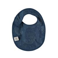 Bavoir Candy bubble Elements - Bleu marine