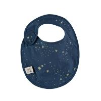 Bavoir Candy stella Elements - Bleu marine