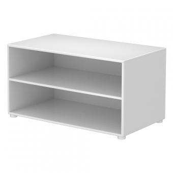 petite biblioth que rangement blanc flexa pour chambre enfant les enfants du design. Black Bedroom Furniture Sets. Home Design Ideas