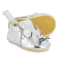 Chaussons bébés Blublu Souris - Argent