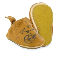 Chaussons Blublu Velo - Naturel