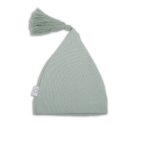ASTOR le bonnet de naissance - Vert d'eau