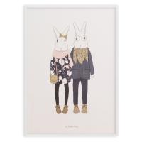 Affiche A3 Camille et Joséphine