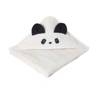 Cape de bain Panda - Crème