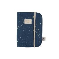 Protège carnet de santé A5 Poema stella Elements - Bleu marine