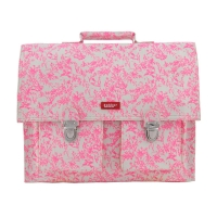 Cartable Jouy - Rose fluo