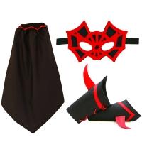 Kit Super Araignée - Noir / Rouge
