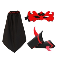 Kit Super Fillette - Noir / Rouge